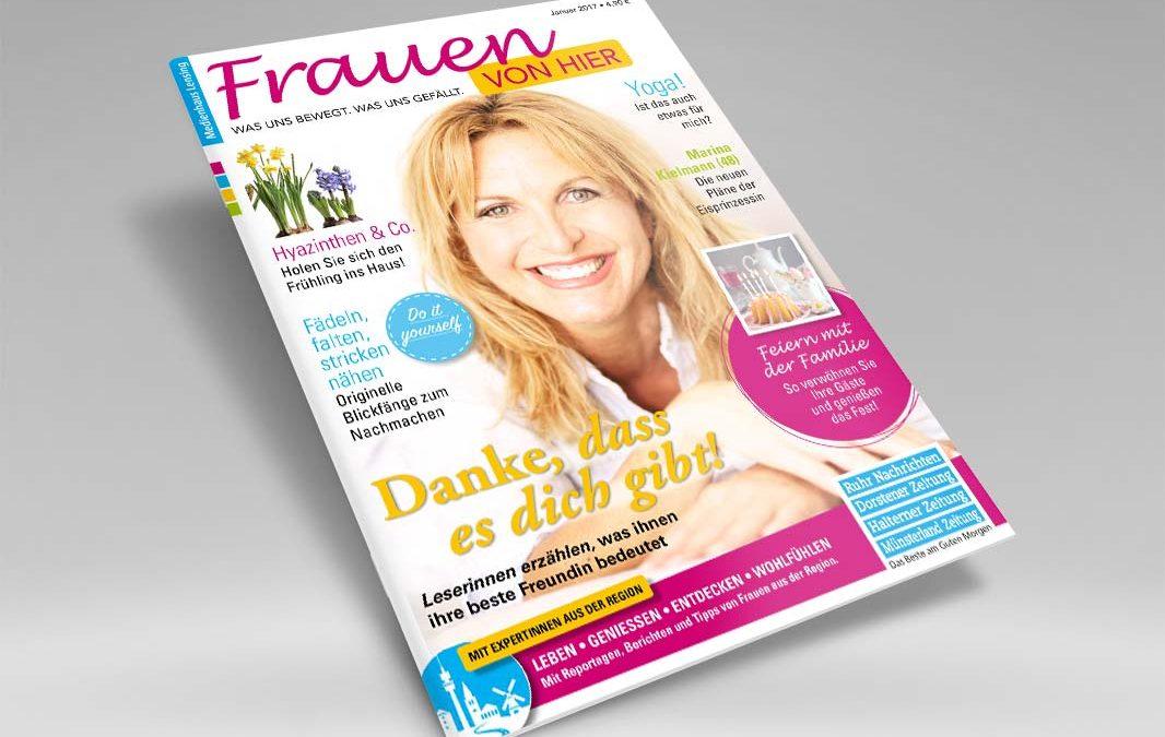 Frauen von hier: Magazin für Frauen in der Region