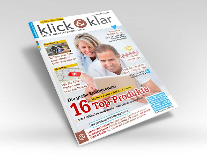 klick & klar: Computermagazin für ältere Leser